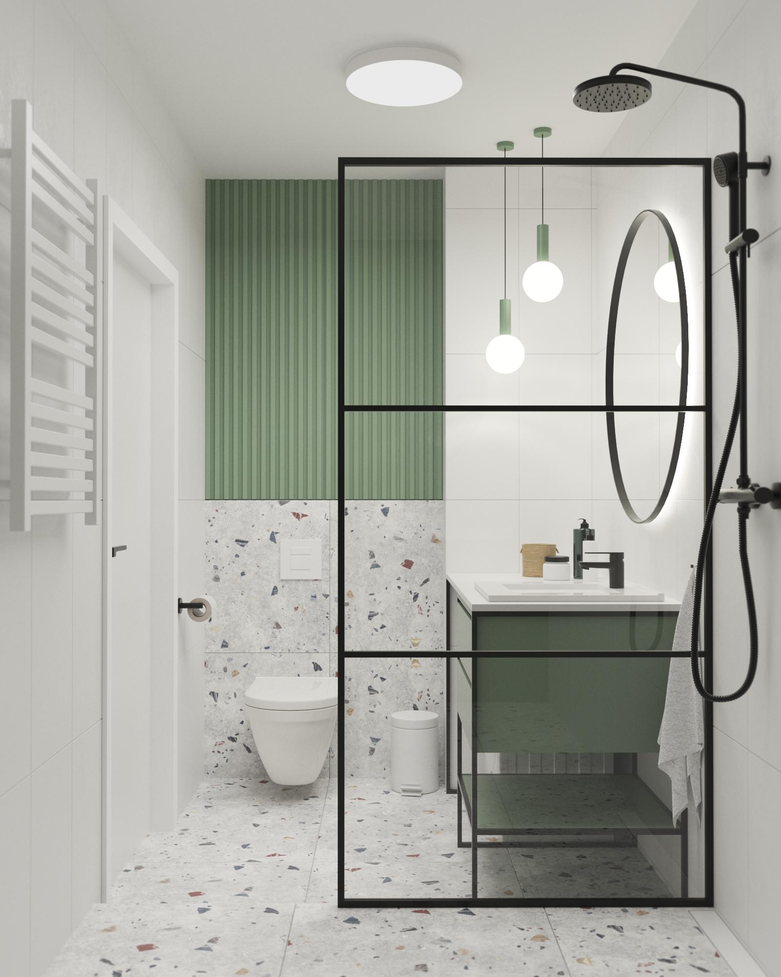 Zabudowy w łazience